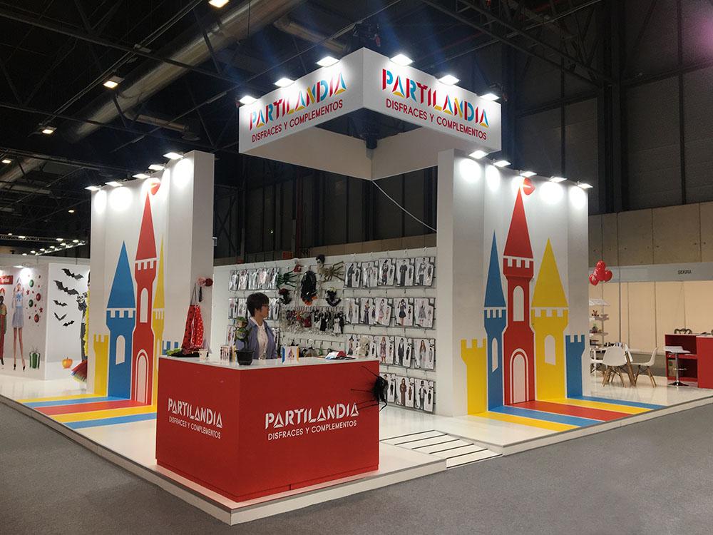 STAND DE PARTILANDIA EN INTERGIFT 2020