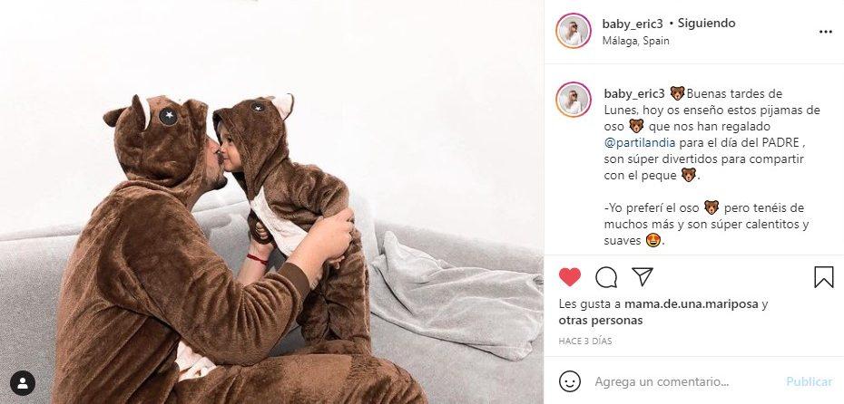 pijamas oso partilandia influencer baby_eric3
