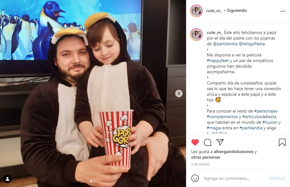 dsifraces pingüinos partilandia influencer cute_m_