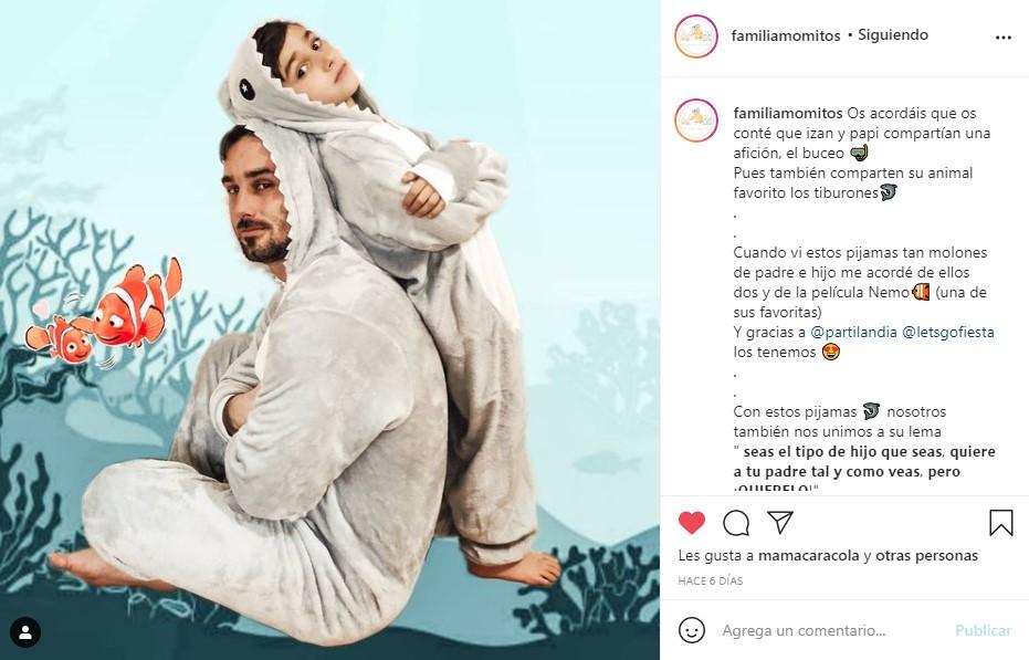 disfraz pijama partilandia influencer familiamomitos