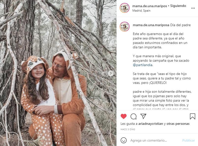 disfraces pijama partilandia influencer mamadeunamariposa