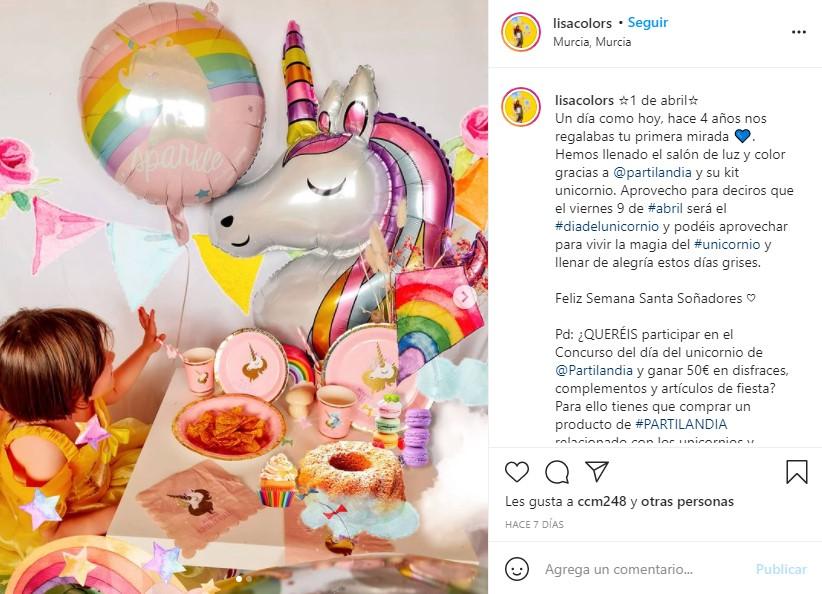 decoracion fiesta cumpleaños unicornio