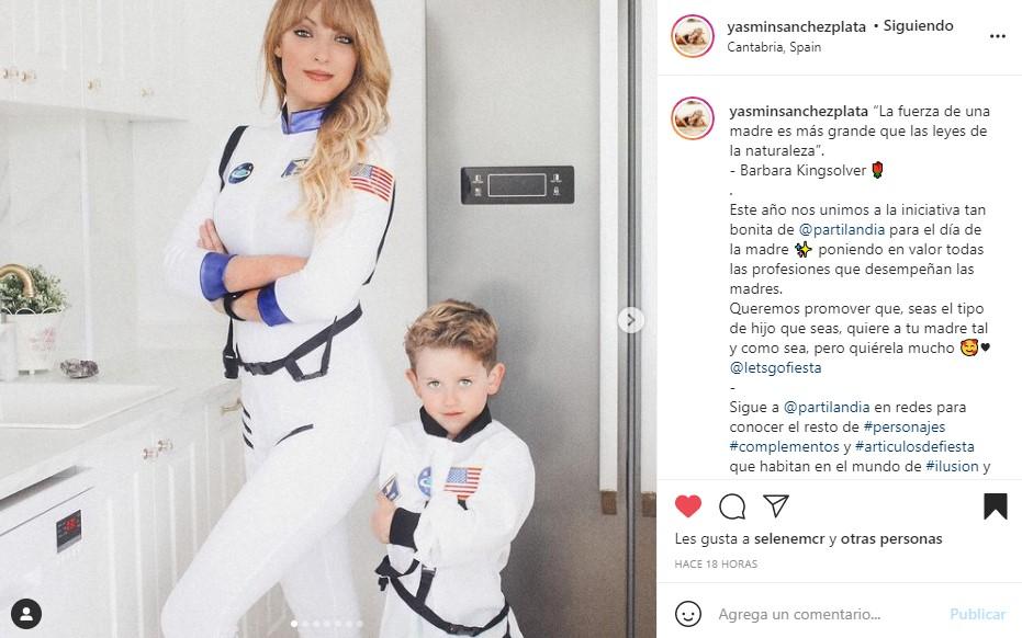 disfraces astronautas al mayor