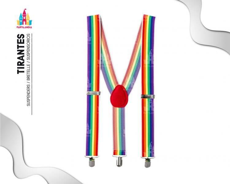 tirantes arco iris