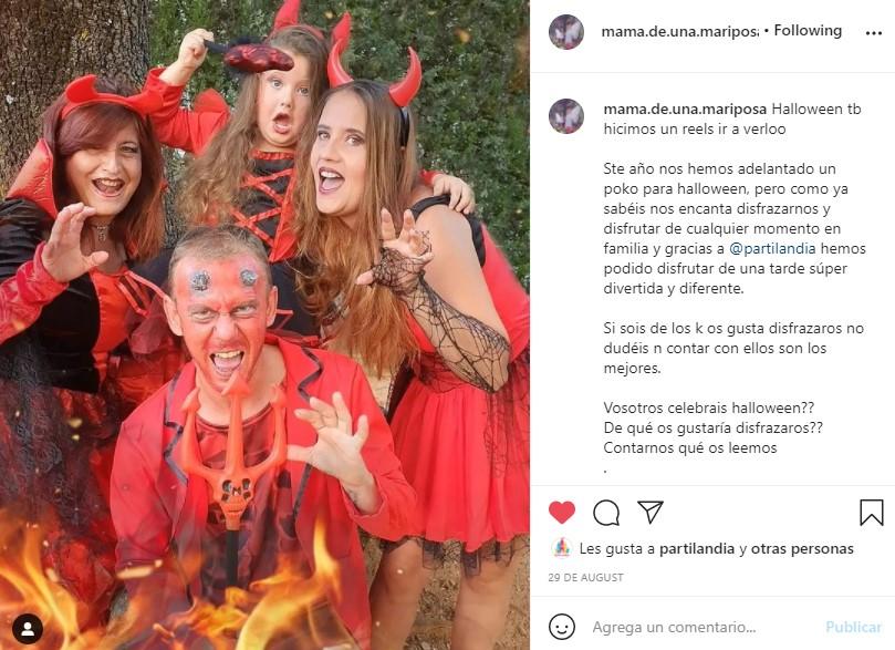 disfraces demonios partilandia halloween